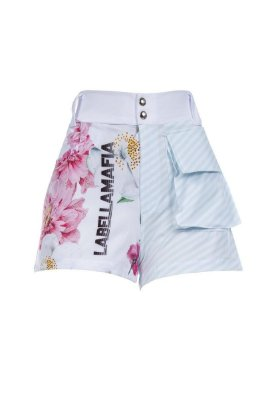 Short LabellaMafia Estampado