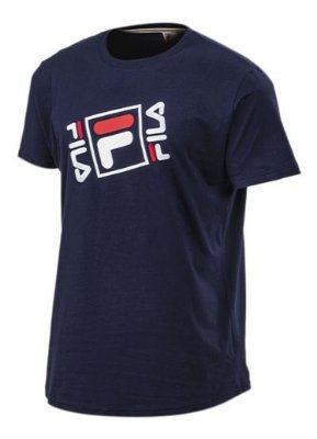 Camiseta Masc. Fila Aiden Navy