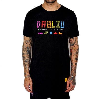 Camiseta Dabliu Costa Tetris Black