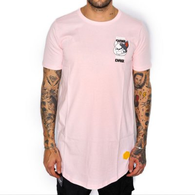 Camiseta Dabliu Costa Big Dab Pink