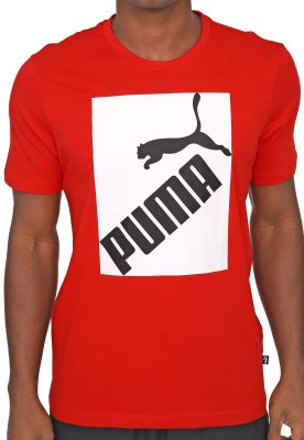 Camiseta Puma Big Logo tee Red