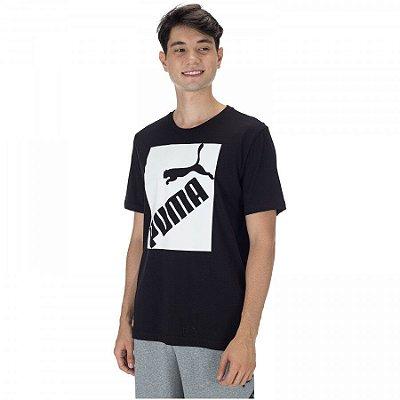 Camiseta Puma Logo Tee Black