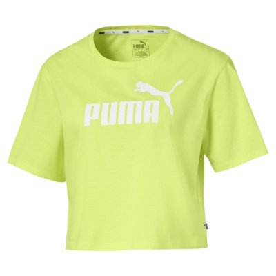 Blusa Cropped Essentials Sunny Lime