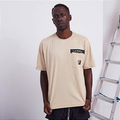 Camiseta La Mafia Bege