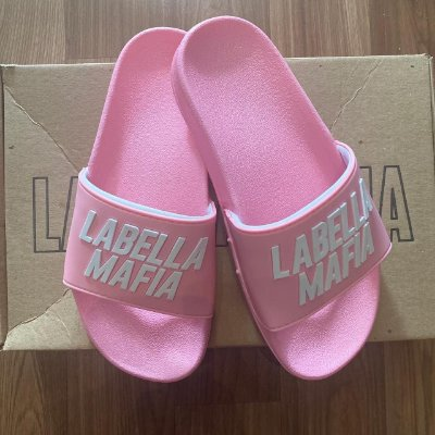 Chinelo Fem. Slide LabellaMafia Pink