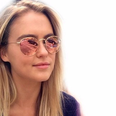 Óculos Ray ban Round Rosa Espelhado