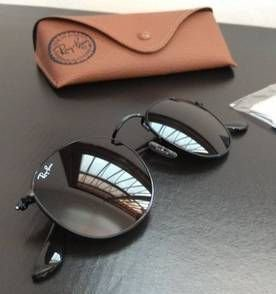 Óculos Ray ban Round Todo Preto