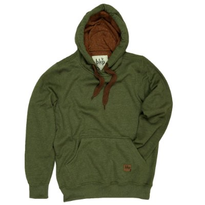 Moletom Hoodie Crafted Colours