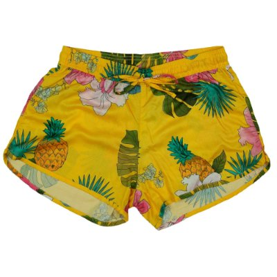 Shorts Praia Pretty Girl Abacaxi