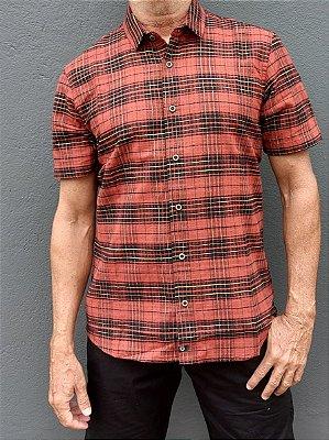 Camisa MC - Xadrez Rustic