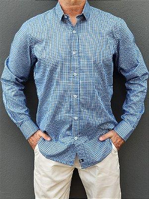 Camisa ML Xadrez Azul