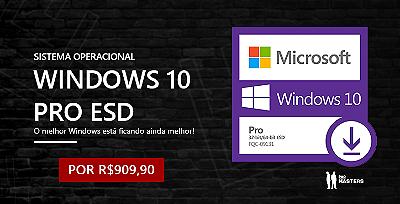 Promoção de Windows 10 Pro ESD