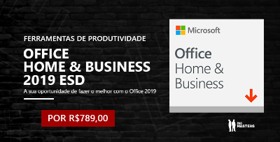 Promoção de Office Home and Business 2019