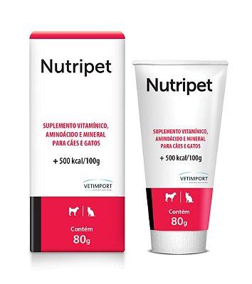 Nutripet 80g Suplemento de vitamínico, aminoácido e mineral