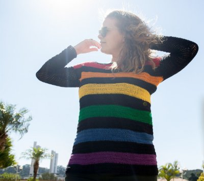 Blusa Rainbow