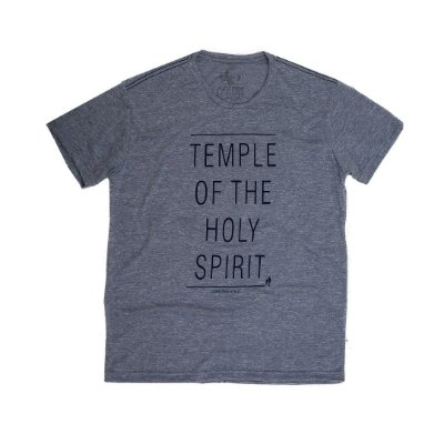 "CAMISA ""TEMPLE OF THE HOLY SPIRIT"""