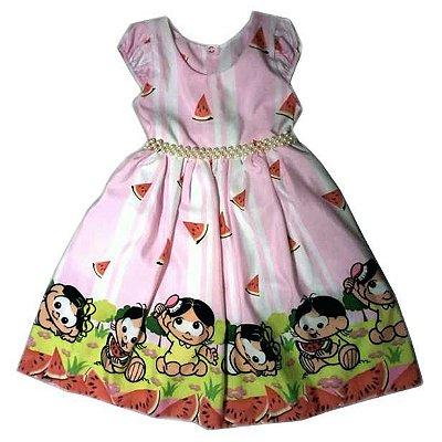 Vestido de Festa Temática Infantil da Magali Rosa