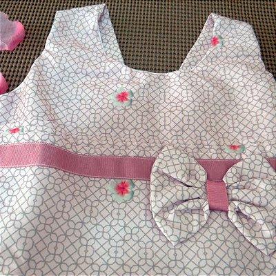 Vestido de Festa Infantil da Turma da Mônica