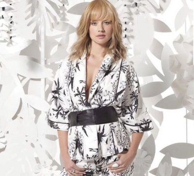 Kimono Feminino Estampado Jeanseria