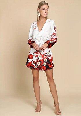 Vestido Midi em Viscose Primavera - Ave Rara Fashion