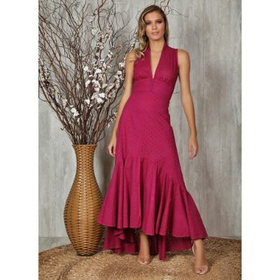 Vestido Longo Audrey II  Ave Rara Fashion