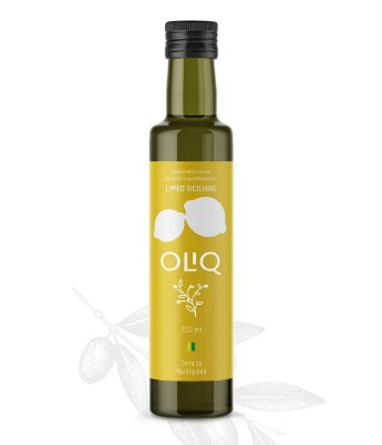 Azeite de oliva Extravirgem com Limão Siciliano Oliq 250ml
