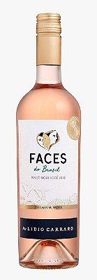 Vinho Lidio Carraro Faces do Brasil Rose Pinot Noir 2019 750ml