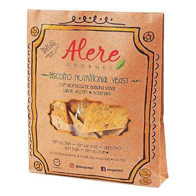 Biscoito Nutritional Yeast com alecrim