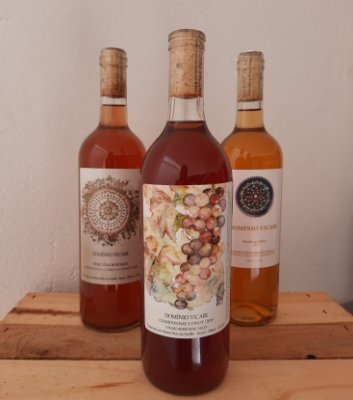 Vinho Rosè Chardonnay/Pinot Domínio Vicari 750ml