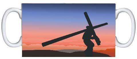 Caneca em Cerâmica Crucificação