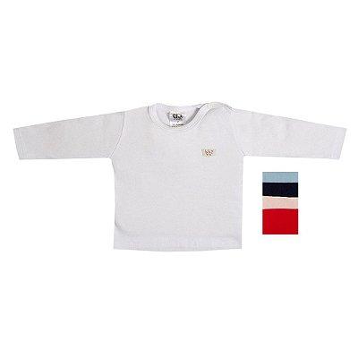 Camiseta Longa de Suedine