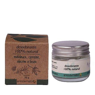 Desodorante Natural com Melaleuca, Cipreste, Alecrim e Litsea