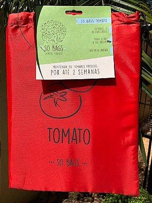 Saco Ecológico Para Conservar Legumes na Geladeira - So Bags Tomato