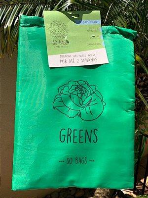Saco Ecológico Para Guardar Folhas na Geladeira - So Bags Greens