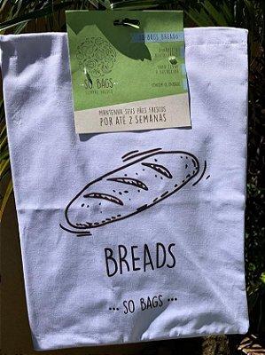 Saco Ecológico Para Conservar Pão - So Bags Breads