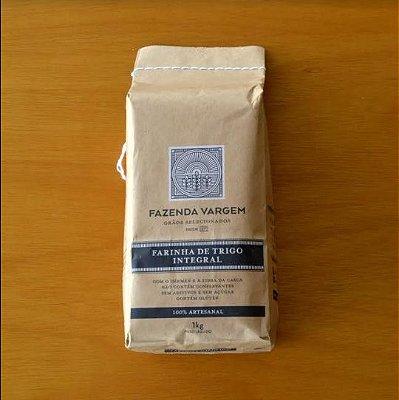 Farinha de trigo integral - Fazenda Vargem