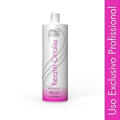 Escova Progressiva para cabelos crespos Keratin Ortoliss Alisante 1000ml
