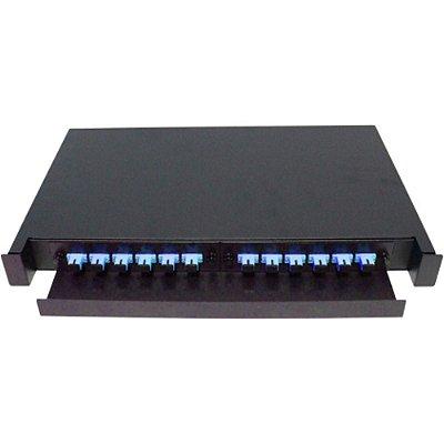 Distribuidor Interno Optico Dio 12 Fo Completo Sc Upc