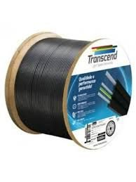 FIBRA OPTICA DROP 1FO MINI FLAT TRANSCEND 1KM