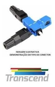 Conector Fibra Optica Sc/upc Transcend Homologado 10un