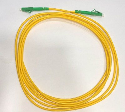 PATCH CORD LC-APC LC-APC SINGLE MODE 3.0MM 3M