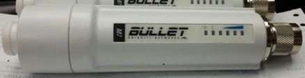 UBIQUITI BULLETM2-HP 2.4GHZ OUTDOOR 600MW AIRMAX HP