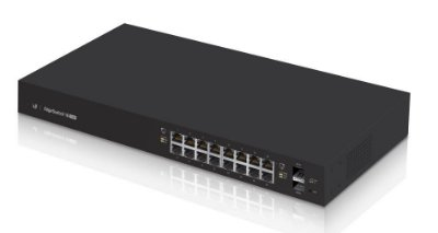 UBIQUITI ES-16-150W EDGE SWITCH 16 RJ45 POE+ 2 SFP