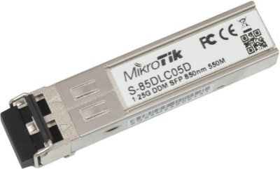 MIKROTIK SFP S-85DLC05D 1.25G MM 550M 850NM DUPLEX