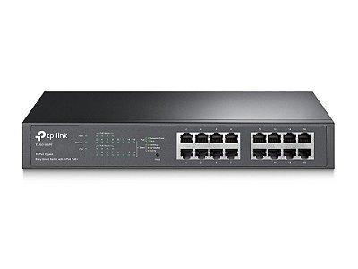 TP-LINK HUB SWITCH 16P TL-SG1016PE 16P 10/100/1000 8P POE+