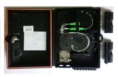 Caixa De Atendimento Fibra Optica 16P Montada 8 Sc/Apc AnateL