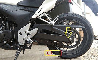 KIT Relação Correia Honda CB500 X - 2014  até 2019