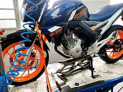 KIT Relação Correia Dentada - Honda CB250F Nova Twister 2016/2017/atual