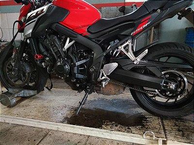 KIT Relação Correia Dentada Honda - CB650F - CB650R - CBR650F - CBR650R Nova