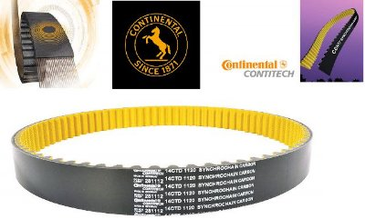 Correia Continental Carbon CTD-1600/17mm - 200 dentes
